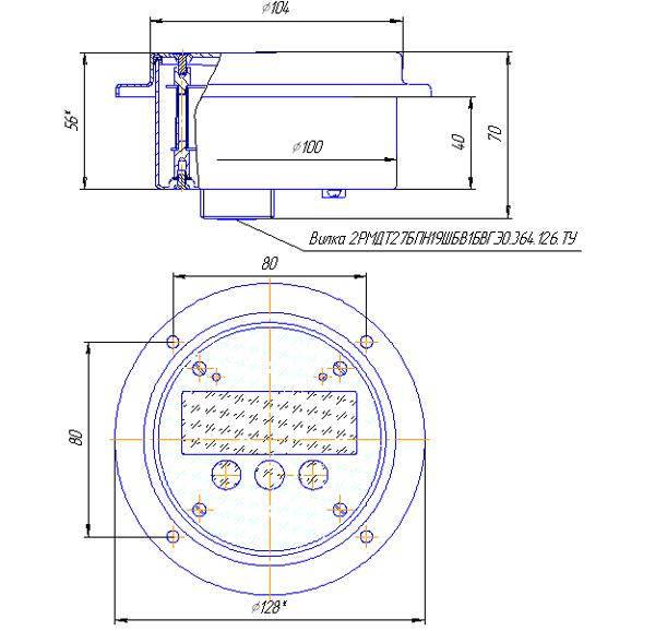 Электронные схемы для термометров.