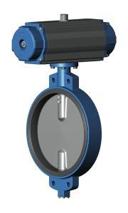 Затвор дисковый VP4409